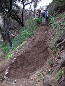 El Prieto trailwork
