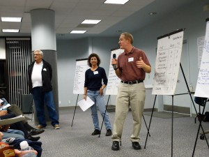 Members of the public talk about their proposed changes