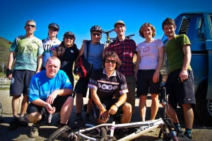Cycling trail advocates from across California