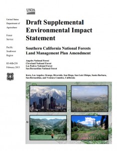 National Forest Draft Land Managment Plan