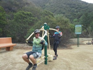 Mountain Do Trail exercise station photo by Robin McGuire