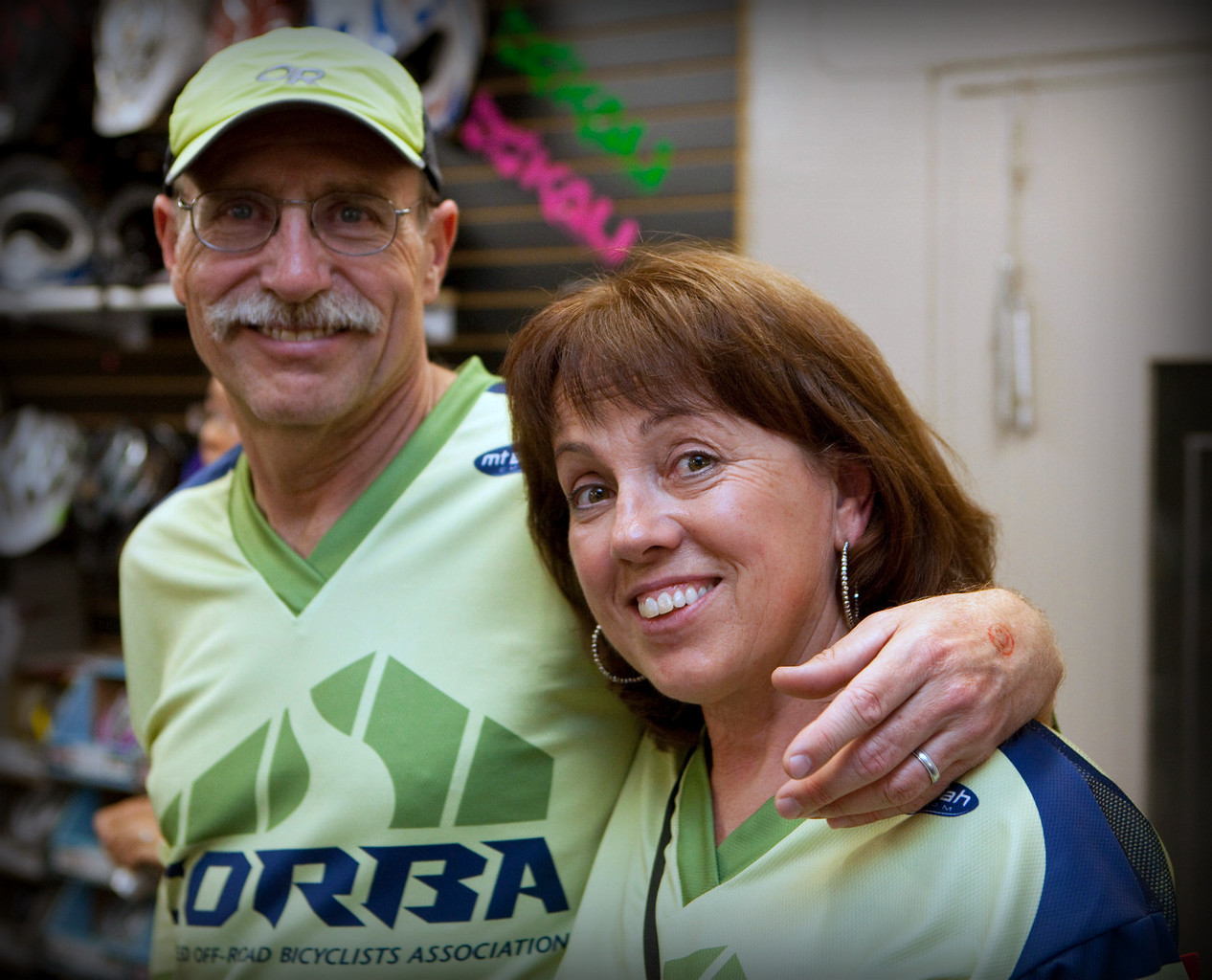 Danusia Bennett-Taber and her husband Don, CORBA Fundraiser 2011.