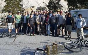 strawberry peak trail crew Volunteers, February 16, 2014