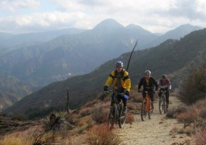 Condor Peak Trail in the San Gabriel Mountains, still threatened by wilderness proposals
