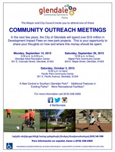 2015 Glendale Parks Meeting