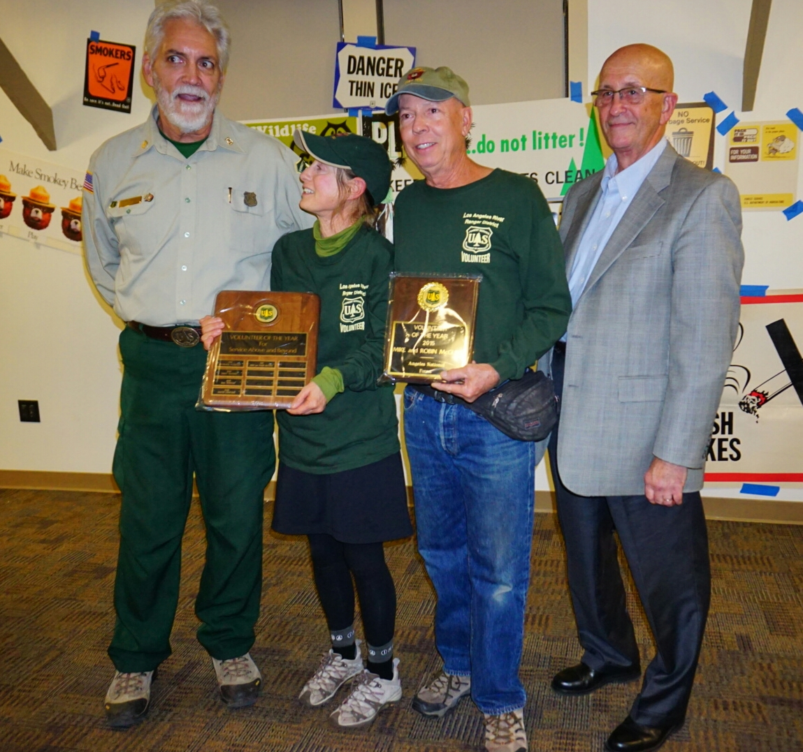 Mike and Robin McGuire, Volunteers of the Year