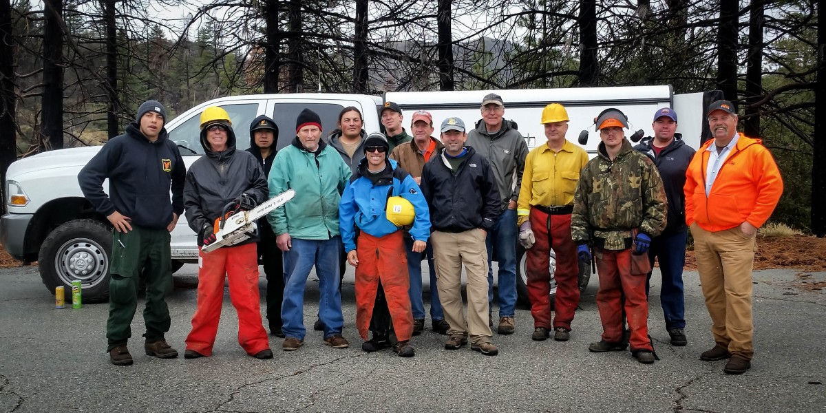 Chainsaw Certification Class of 2015
