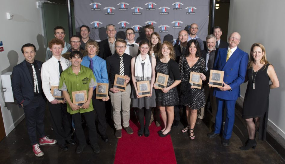All the 2015 NICA Award Recipients. Photo by Karl Nielsen