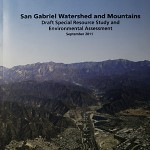 San Gabriel Watershed and Mountains Special Rescource Study Cover